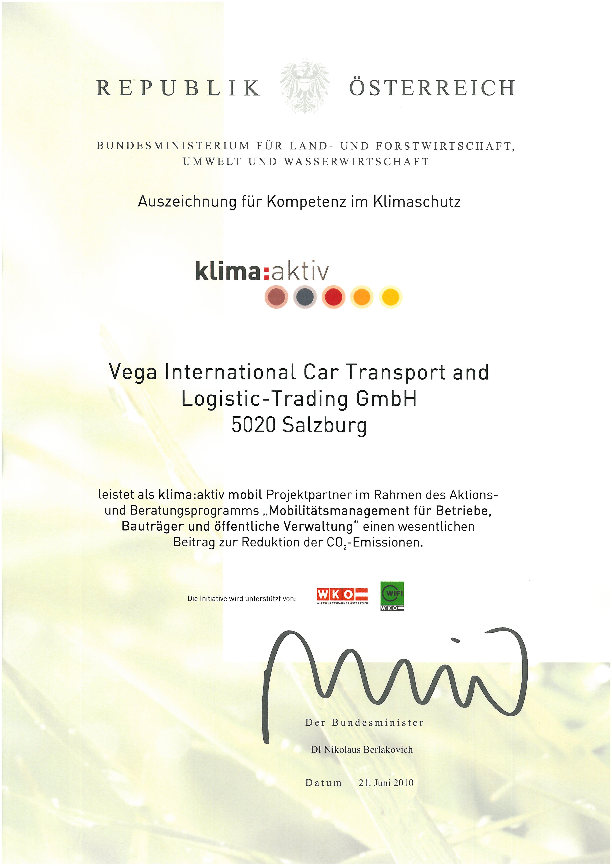 Awards | Vega International Car Transport and Logistic